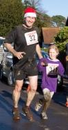 Robert Beale running the 2014 Virgin Money London Marathon in aid of Gist Support UK